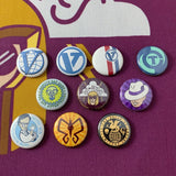"Adventure Siblings 1"" Button Set"