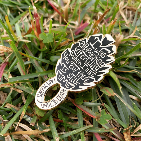 Eternal Pinecone Enamel Pin