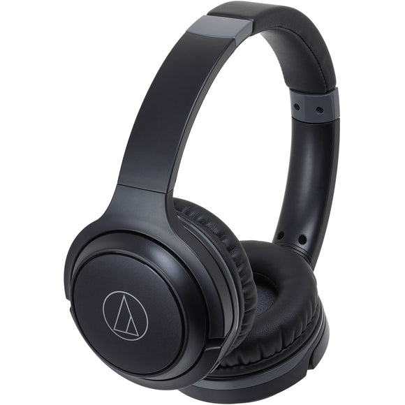 Audio-Technica ATH-S200BT Wireless On-Ear Headphones w/ Built-in Mic/Controls