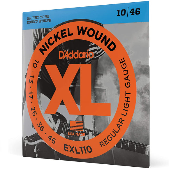 D'Addario EXL110 10-46 Electric Guitar Strings
