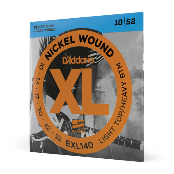 D'Addario EXL140 10-52 Electric Guitar Strings