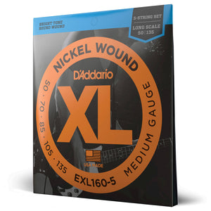 D'Addario EXL160-5 Electric Bass Strings