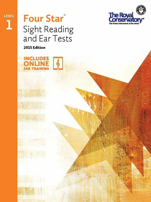 RCM Four Star Sight Reading & Ear Test - Level 1