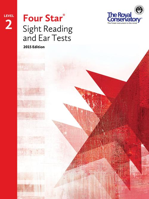 RCM Four Star Sight Reading & Ear Tests - Level 2