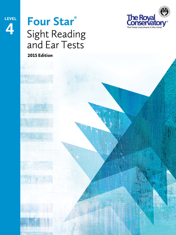 RCM Four Star Sight Reading & Ear Tests - Level 4