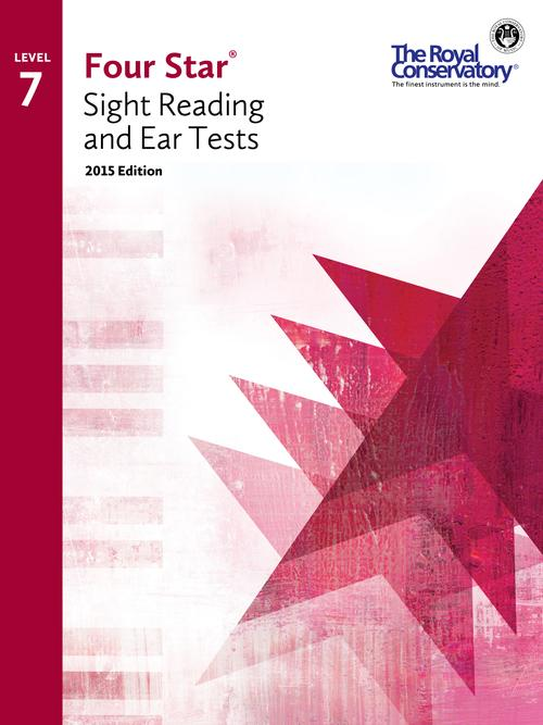 RCM Four Star Sight Reading & Ear Tests - Level 7