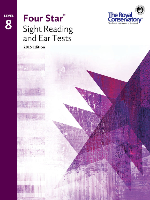 RCM Four Star Sight Reading & Ear Tests - Level 8