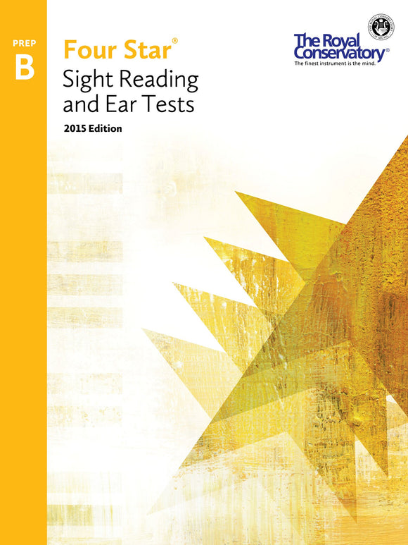 RCM Four Star Sight Reading & Ear Tests - Preparatory B