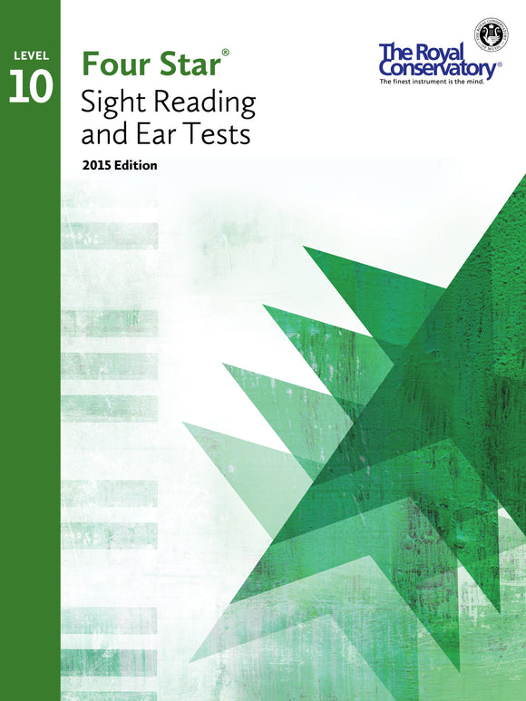 RCM Four Star Sight Reading & Ear Tests - Level 10