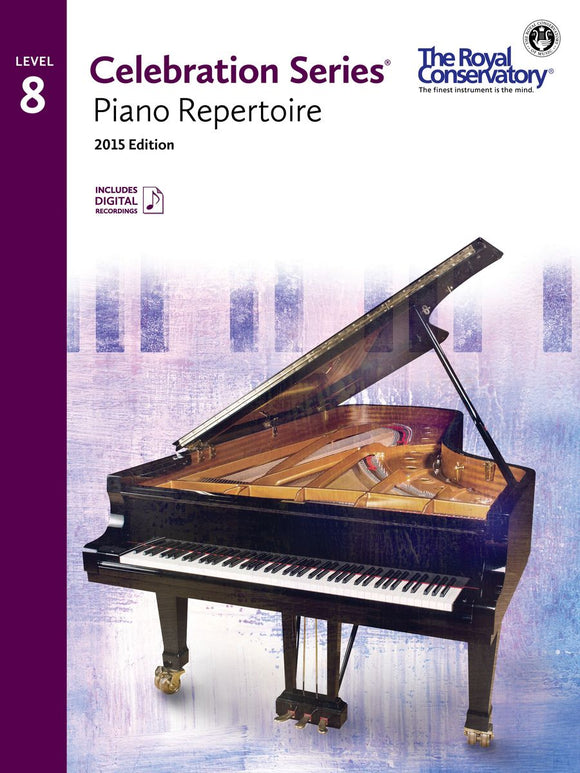 RCM Piano Repertoire - Level 8