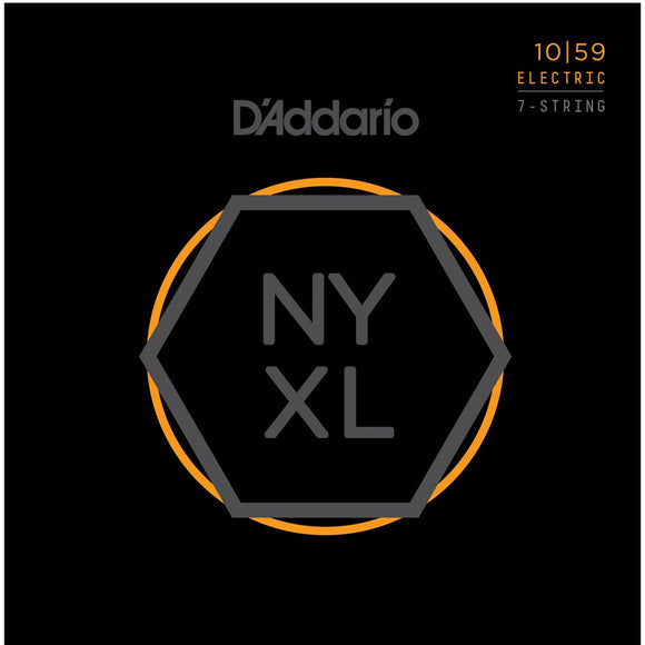 D'addario NYXL1059 7 Electric Guitar Strings