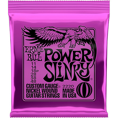 Ernie Ball Power Slinky Electric Guitar Strings