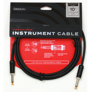 Planet Waves American Stage Instrument Cable - 10'
