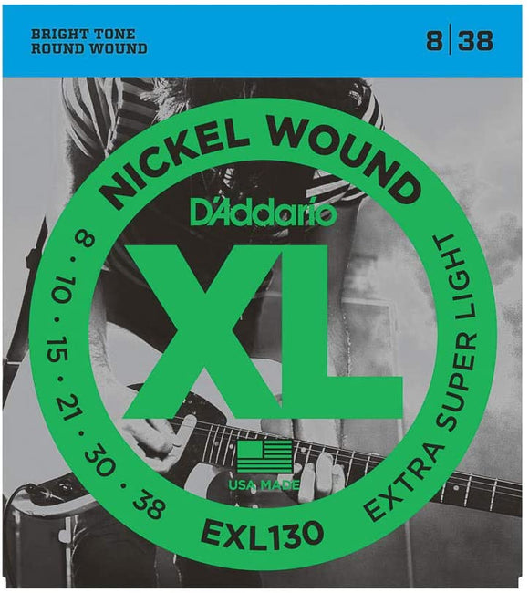 D'addario EXL130 8-38 Electric Guitar Strings