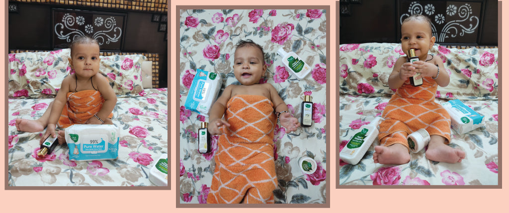 Essential Newborn Skincare Items by Mother Sparsh