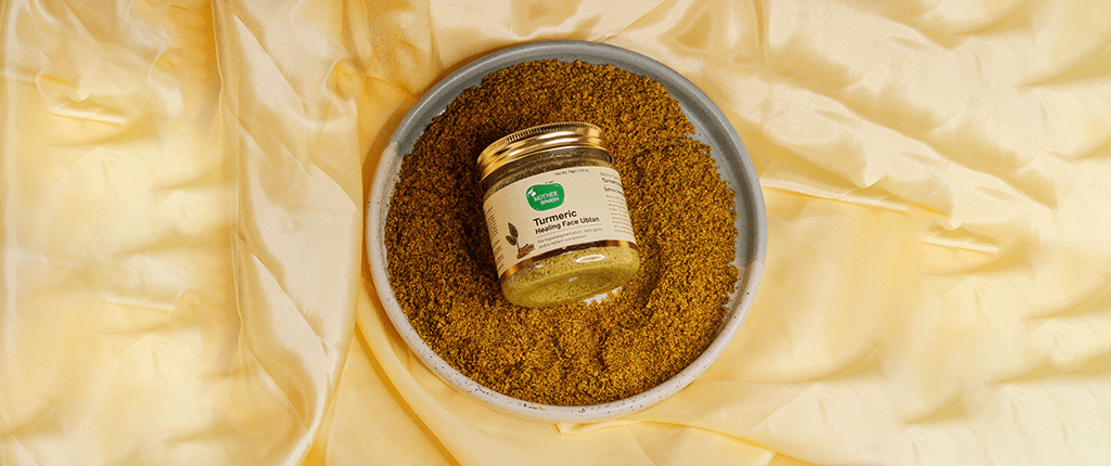 Turmeric Healing Ubtan For Face By Mother Sparsh