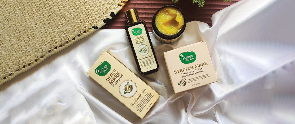 How to get rid of stretch marks with natural stretch mark oil & Stretch Mark Kit