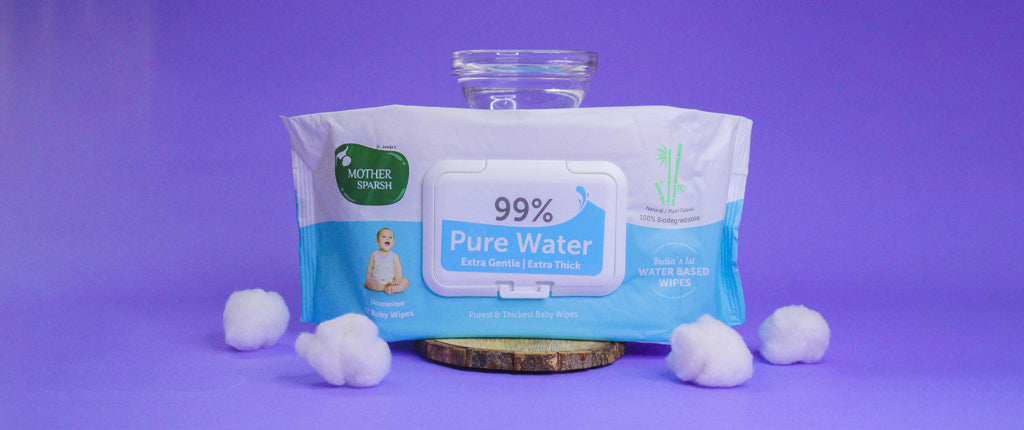 No.1 Baby wipes in India Mother Sparsh Best baby care products