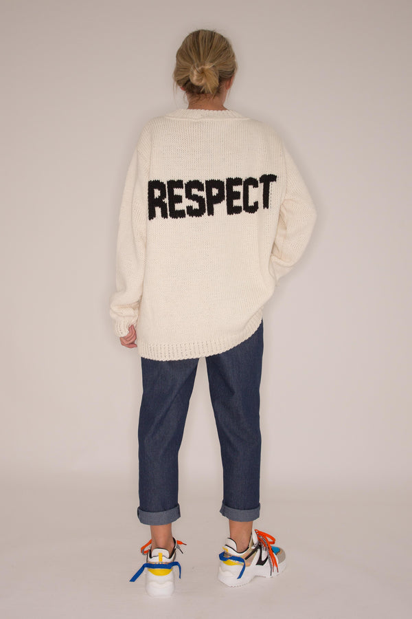 Respect sweater