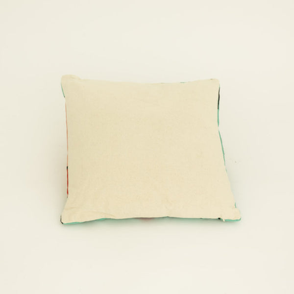 Blue face cushion