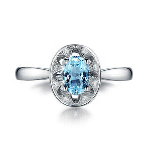 1.25ct Hollow Out Oval Cut Topaz Sliver Ring - jewel-inside