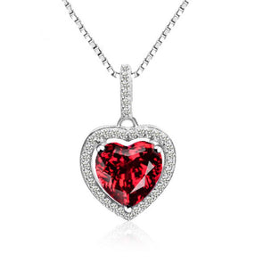 Heart Hollow Halo Fashion Pendant - jewel-inside
