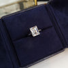 Emerald Cut Sterling Silver Ring - jewel-inside