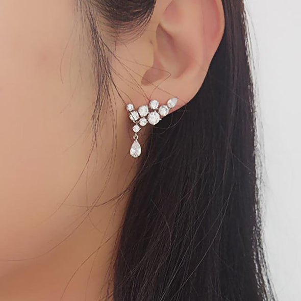 Fashion Drop Stacking Earrings - jolics