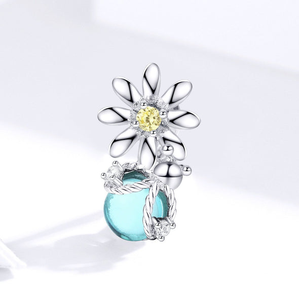 Firefly & Daisy 925 Sterling Silver Dangle Charm - jolics