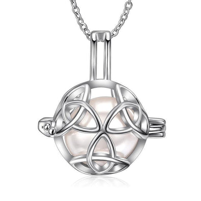 My Infinite Love Caged Pendant Necklace - jolics