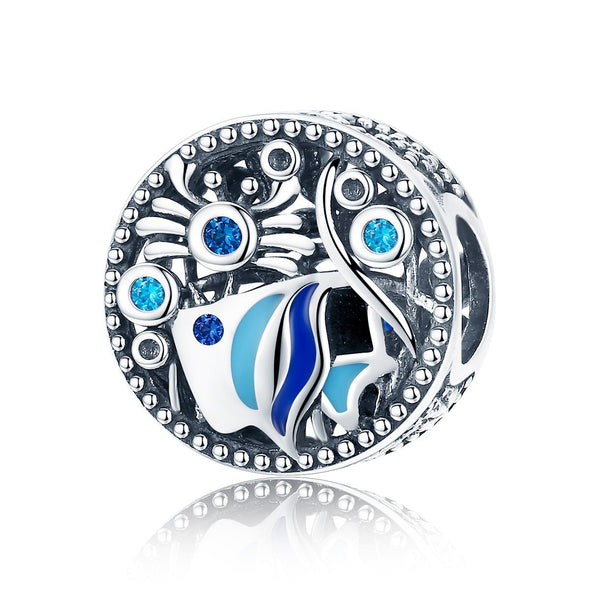 Sea World 925 Sterling Silver Bead Charm - jolics