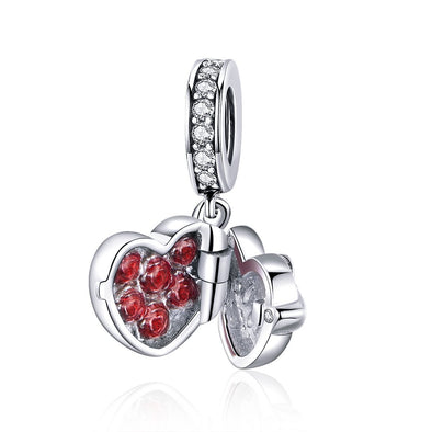 The Gift of Love 925 Sterling Silver Dangle Charm - jolics