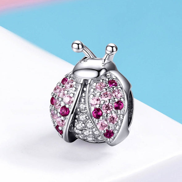 The Ladybird 925 Sterling Silver Bead Charm - jolics