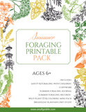 Summer Foraging Printable Mini-Pack