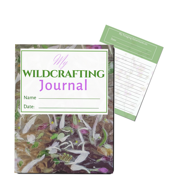 Wildcrafting Journal from An Off Grid Life
