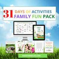 31 Days of Family Fun Pack!