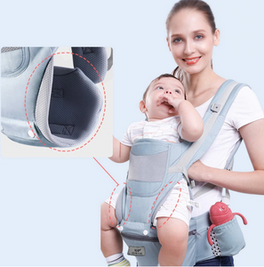 Your days of baby carrier pain are over! 0-48 months baby carrier, safe and comfortable!