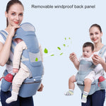0-48M Ergonomic Baby Carrier, Super Comfortable and Attractive!