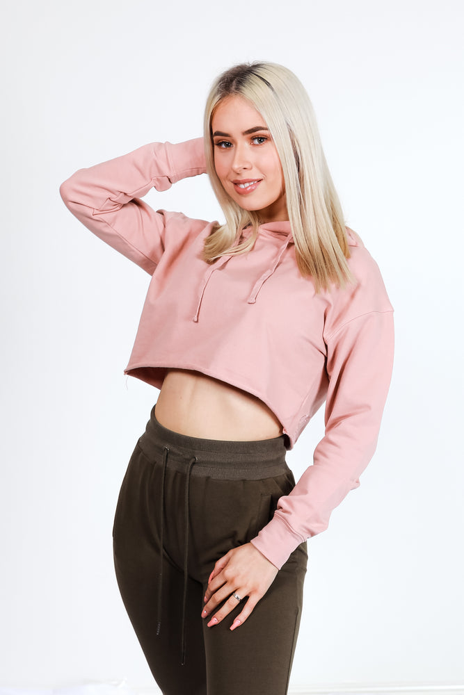 Itty Crop - Dusty Pink