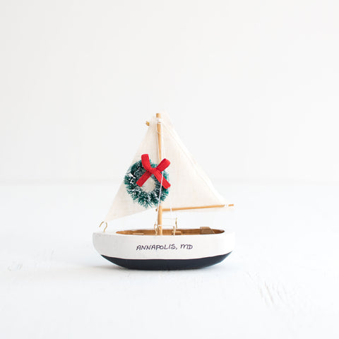 Ornament Sailboat
