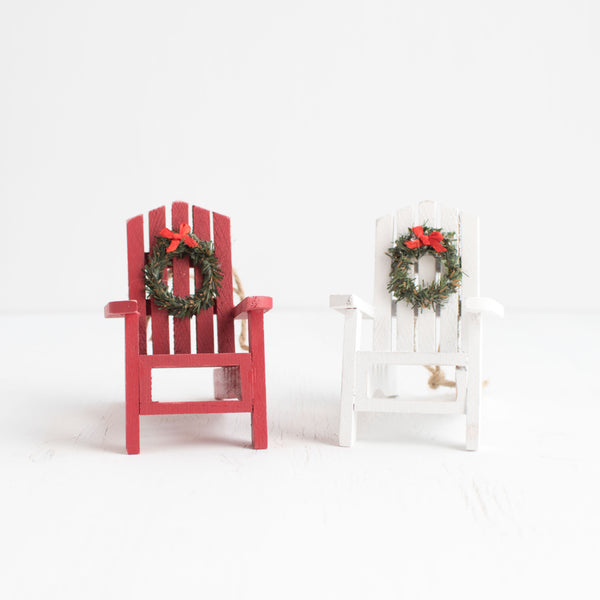 Ornament Adirondack Chair