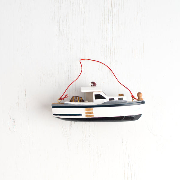Ornament Crab Boat