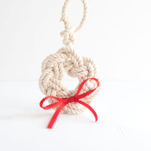 Ornament Rope Wreath