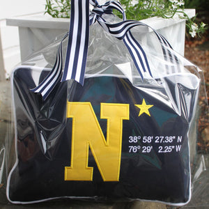 USNA Stadium Lat Long Navy Lumbar