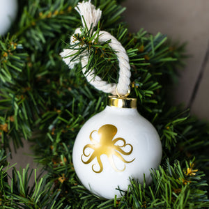 Octopus Ball Ornament