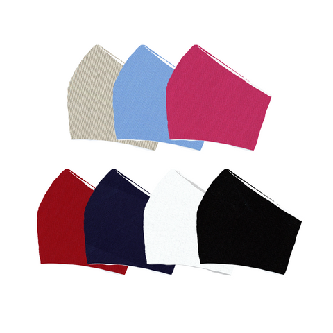 Solid Color Face Mask | Assorted Sizes