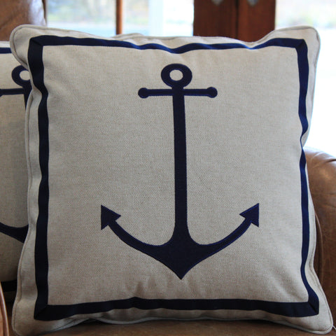Anchor on Herringbone 18""