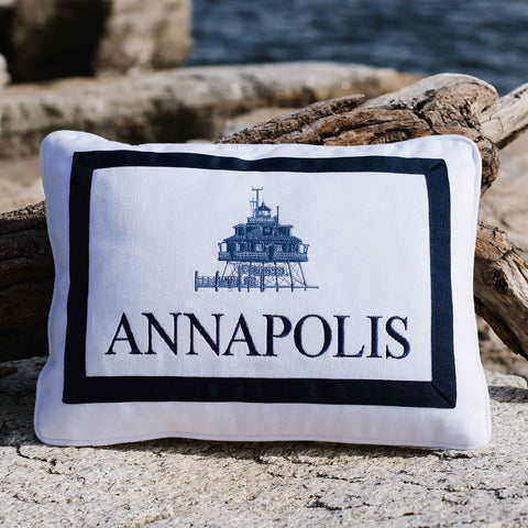 Annapolis Thomas Point Pillow