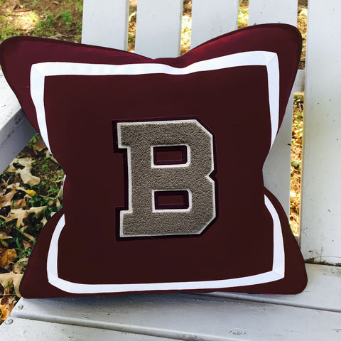 Broadneck Varsity Letter Pillow
