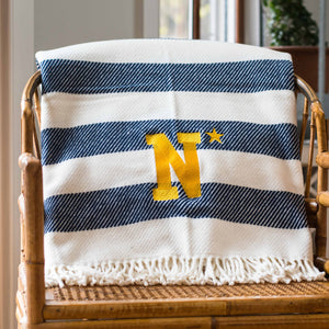 N* Star Rugby Stripe Throw Blanket